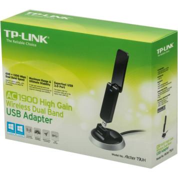 Сетевой адаптер WiFi TP-Link Archer T9UH AC1900 USB 3.0 (ант.внеш.несъем.) -8