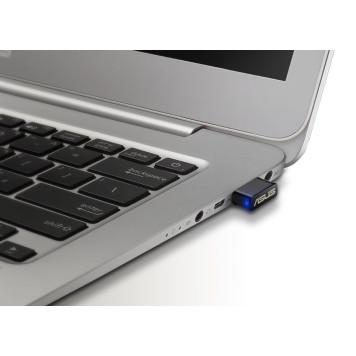 Сетевой адаптер WiFi Asus USB-AC53 Nano AC1200 USB 2.0