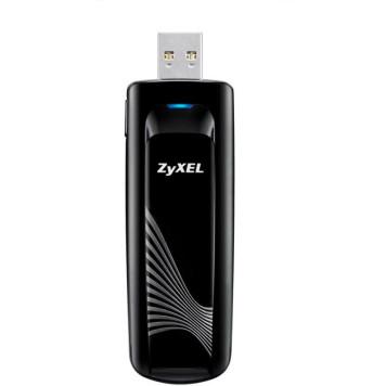 Сетевой адаптер WiFi Zyxel NWD6605-EU0101F AC1200 USB 3.0 (ант.внеш.несъем.)