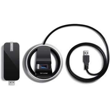 Сетевой адаптер WiFi TP-Link Archer T9UH AC1900 USB 3.0 (ант.внеш.несъем.) -9