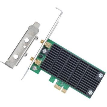 Сетевой адаптер WiFi TP-Link Archer T4E AC1200 PCI Express (ант.внеш.съем) 2ант. -6