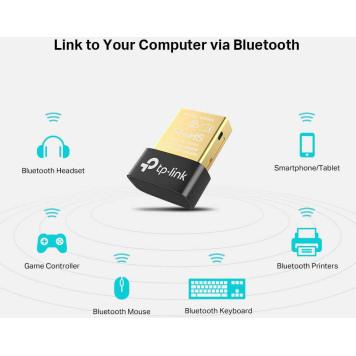 Сетевой адаптер Bluetooth TP-Link UB400 USB 2.0 -5