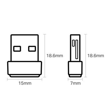 Сетевой адаптер WiFi TP-Link Archer T2U NANO AC600 USB 2.0 -3