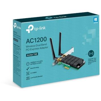 Сетевой адаптер WiFi TP-Link Archer T4E AC1200 PCI Express (ант.внеш.съем) 2ант. -3