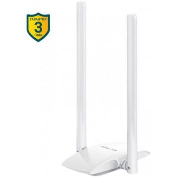 Сетевой адаптер WiFi Mercusys MW300UH N300 USB 2.0 (ант.внеш.несъем.) 2ант. -1
