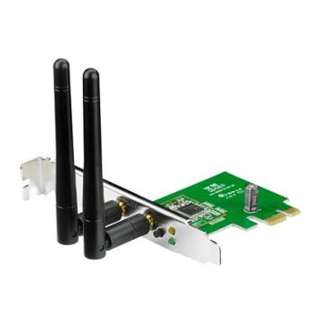 Сетевой адаптер WiFi Asus PCE-N15 N300 PCI Express (ант.внеш.съем) 2ант.