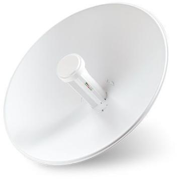Точка доступа Ubiquiti PBE-M5-400 10/100BASE-TX компл.:параболический отражатель/антенна/крепления/адаптер белый -1