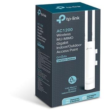 Точка доступа TP-Link EAP225-outdoor AC1200 1000BASE-TX белый