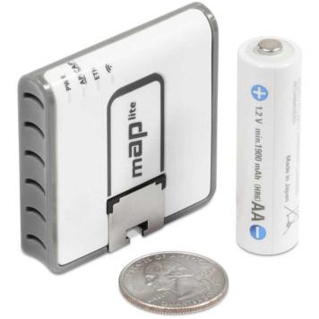 Точка доступа MikroTik mAP lite (RBMAPL-2ND) N300 10/100BASE-TX белый -4