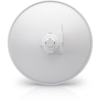 Точка доступа Ubiquiti PBE-M5-400 10/100BASE-TX компл.:параболический отражатель/антенна/крепления/адаптер белый