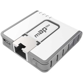 Точка доступа MikroTik mAP lite (RBMAPL-2ND) N300 10/100BASE-TX белый -2