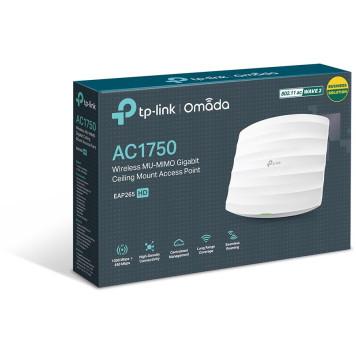 Точка доступа TP-Link EAP265 HD AC1750 10/100/1000BASE-TX белый -6