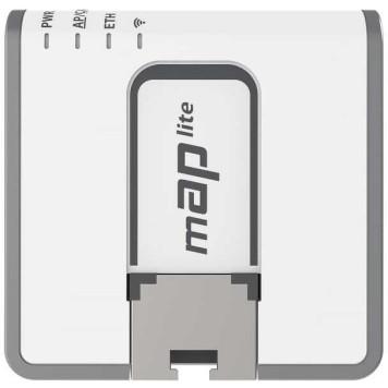 Точка доступа MikroTik mAP lite (RBMAPL-2ND) N300 10/100BASE-TX белый -3
