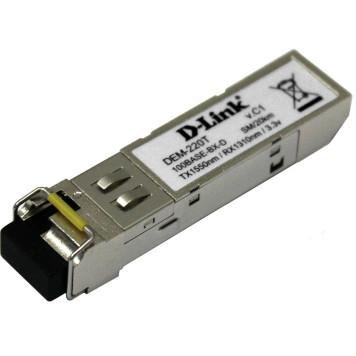 Трансивер D-Link 220T/20KM/A1A WDM SFP 100Base-BX-D Tx:1550nm Rx:1310nm singlemode 20km