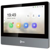 Видеодомофон Hikvision DS-KH8350-TE1 серебристый