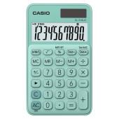 Калькулятор карманный Casio SL-310UC-GN-S-EC зеленый 10-разр.