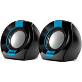 Колонки Sven 150 2.0 черный/синий 5Вт