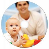 Диск CD-R Verbatim 700Mb 52x Cake Box (50шт) Printable (43438)