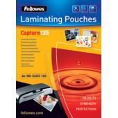 Пленка для ламинирования Fellowes 125мкм A7 (100шт) глянцевая 75x105мм CRC-53069 (FS-53069)