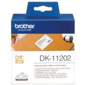 Картридж ленточный Brother DK11202 для Brother QL-570