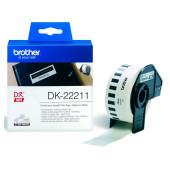 Картридж ленточный Brother DK22211 желтый для Brother QL-570