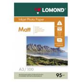 Бумага Lomond 0102129 A3/95г/м2/100л./белый матовое для струйной печати