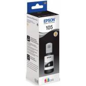 Картридж струйный Epson 105BK C13T00Q140 черный (70мл) для Epson L7160/7180