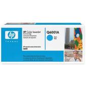 Картридж лазерный HP 124A Q6001A голубой (2000стр.) для HP 1600/2600n/2605/2605dn/2605dtn/CM1015/1017