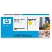 Картридж лазерный HP 124A Q6002A желтый (2000стр.) для HP 1600/2600n/2605/2605dn/2605dtn/CM1015/1017