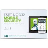 ПО Eset NOD32 NOD32 Mobile Security 3 devices 1 year Base Card (NOD32-ENM2-NS(CARD)-1-1)