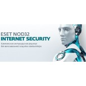 ПО Eset NOD32 Internet Security 1 год или продл 20 мес 3 devices 1 year Card (NOD32-EIS-1220(CARD)-1-3)