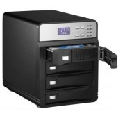 Внешний корпус для HDD AgeStar 3C4B3A1 SATA II алюминий черный LCD 3.5