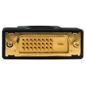 Адаптер Hama 00122237 DVI-D (m) HDMI (f) черный