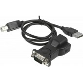 Адаптер Ningbo X-Storm USB-COM-ADPG BF-810 COM 9pin (m) USB A(m) 0.8м черный