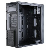 Корпус Accord ACC-CT291 черный без БП ATX 1x92mm 3x120mm 2xUSB2.0 1xUSB3.0 audio