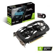 Видеокарта Asus PCI-E DUAL-GTX1650-O4G nVidia GeForce GTX 1650 4096Mb 128bit GDDR5 1485/8002 DVIx1/HDMIx1/DPx1/HDCP Ret