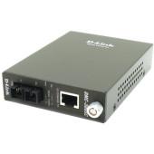Медиаконвертер D-Link DMC-300SC DMC-300SC/D8A 1x10/100Base-TX 1x100Base-FX SC MultiMode 2km
